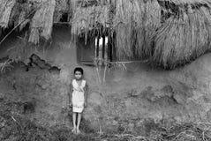 дети Индия недостаточно питающийся стоковая фотография