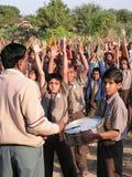 дети Индия стоковое изображение rf