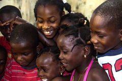 Дети и видео- потеха Стоковые Фото