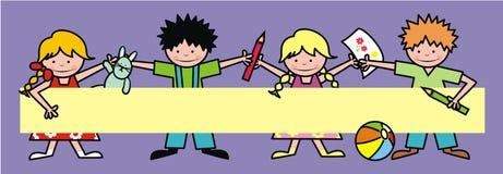 Дети и игрушки Стоковые Изображения