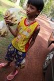 дети Камбоджи Стоковые Изображения