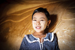 Дети Мьянмы Стоковая Фотография RF