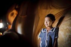Дети Мьянмы Стоковое фото RF