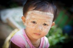 Дети Мьянмы Стоковое Изображение
