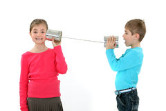 Дети на игре Стоковое Изображение RF