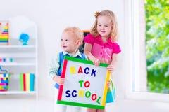 Дети на картине preschool Стоковые Изображения