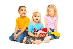Дети пасхи Стоковые Изображения