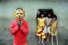 дети сельские стоковые изображения rf