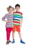 Дети стоят совместно Стоковая Фотография