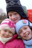 дети счастливые Стоковое Изображение RF
