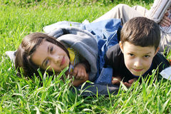 дети счастливые стоковое фото
