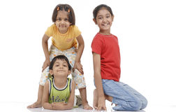 дети счастливые 3 Стоковое фото RF