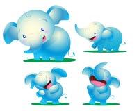 Дети слона Стоковое Изображение RF