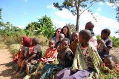Дети Танзании Африки 03 Стоковые Фотографии RF