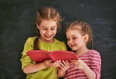 Дети учат в классе Стоковая Фотография RF