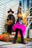 Дети хеллоуина Стоковые Фотографии RF