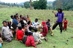 дети эфиопские стоковое фото