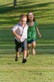 дети 2 детеныша Стоковое Изображение RF