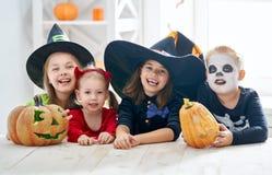 дети halloween Стоковое Изображение RF