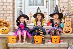 дети halloween Стоковые Изображения RF