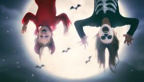 дети halloween стоковые изображения