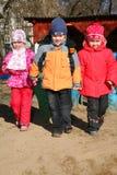 дети kindergarten3 Стоковая Фотография