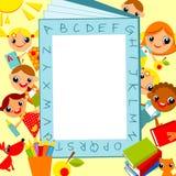 дети s предпосылки Стоковое Изображение RF