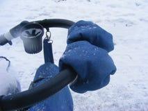 Детская дорожная коляска прогулочной коляски сумки Стоковое Фото