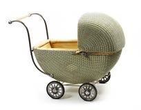 детская дорожная коляска фасонировала старую Стоковые Изображения