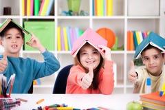 Детская игра дома Стоковое Изображение RF