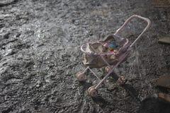Детская дорожная коляска Стоковые Фото
