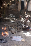детский труд Африки Стоковое Изображение