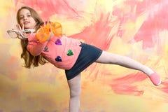 детство и счастье Стоковое фото RF