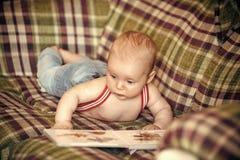 Детство, младенчество, невиновность стоковое изображение rf