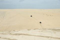 Дефектное катание песка стоковые фотографии rf