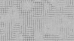 Деформировать иллюстрацию сетки иллюстрация вектора
