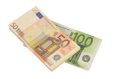 Дешев-Деньг-Евро-европейская валюта Стоковые Фото