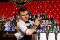 Деятельность бармена Стоковая Фотография RF