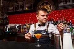 Деятельность бармена Стоковые Фотографии RF