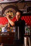 Деятельность бармена Стоковое Изображение RF