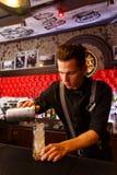 Деятельность бармена Стоковое фото RF
