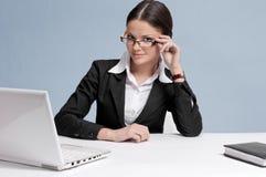 деятельность женщины места офиса дела Стоковое Изображение RF