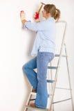 деятельность женщины молотка Стоковые Фотографии RF