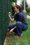 деятельность женщины стоковое изображение