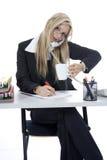 деятельность женщины bussines Стоковое Изображение