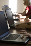 деятельность компьютерщиков Стоковая Фотография RF