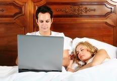 деятельность кровати Стоковое фото RF