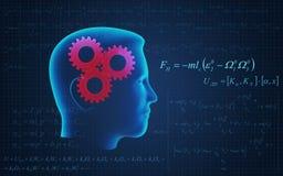Деятельность людской головки Стоковая Фотография RF