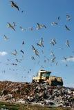 деятельность места захоронения отходов Стоковое Фото