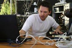 деятельность обоих программистов стоковое изображение